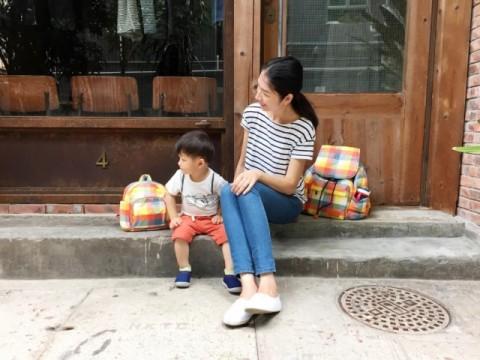 親子裝可用同款包。